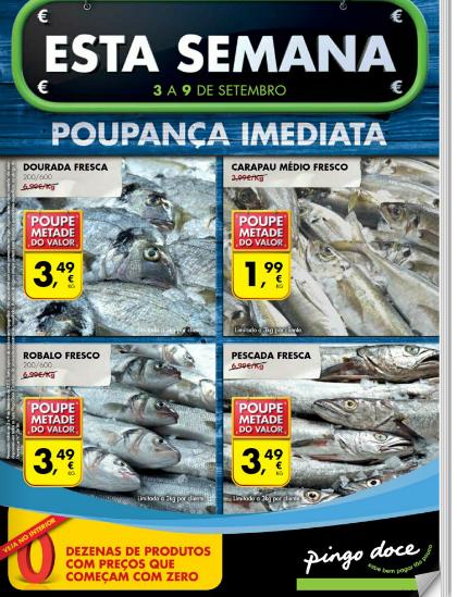 PROMOÇÕES PINGO DOCE