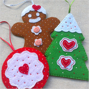 decoraçoes de natal em feltro